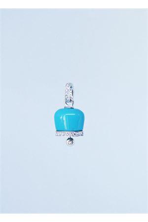 Campanella portafortuna di Capri smaltata Manè Capri | 5032249 | MANE3LIGHT BLUE