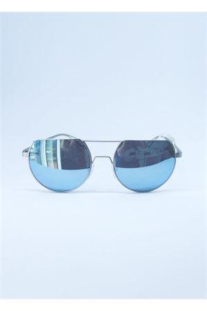 Occhiali da sole artigianali con lente specchiata Medy Ooh | 53 | AUDREYAZZURRO