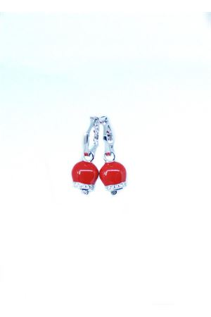 Capri bell earrings Pierino Jewels | 48 | 3065ROSSO