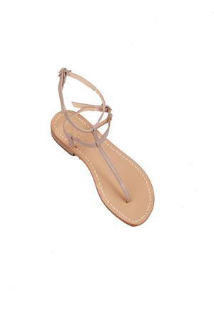 Flip flop grey sandals Da Costanzo | 5032256 | 2609GRIGIO