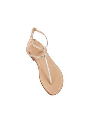 Platinum sandals high at the ankle Da Costanzo | 5032256 | 2609PLATINO