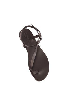 Sandali capresi con suola nera Da Costanzo | 5032256 | 2669/BRNERO
