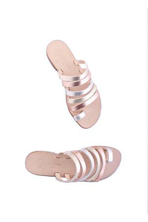 Sandali capresi artigianali Da Costanzo | 5032256 | TV2621PLATINO