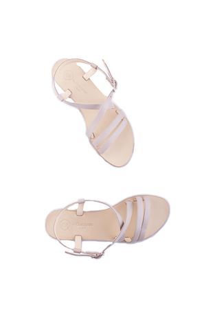 Handmade Capri leather sandals Da Costanzo | 5032256 | TV2668ROSA