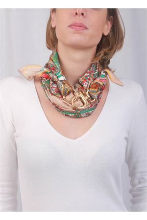 Capri scarf with hooks Grakko Fashion | -709280361 | GRCASHBEIGE