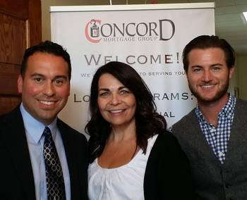 Josh Brader Julie Chester And Jason Perkins Of Concord Mortgage Group