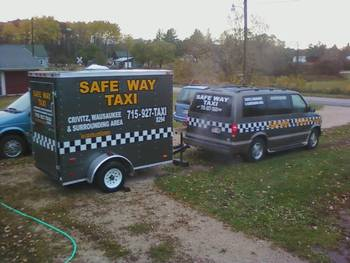 Safe Way Taxi Service in Middle Inlet//Wausaukee/Crivitz areas
