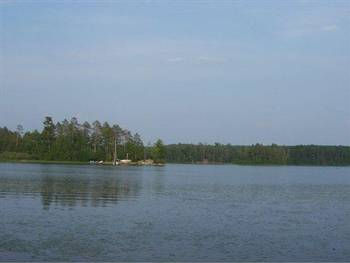 Archibald Lake near Townsend, Wisconsin (Photo by Signature Realty)