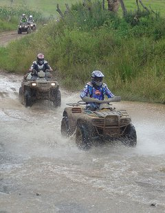 Riding at high-speed on ATV trails in Marinette County can be deadly (Photo by WTAQ)