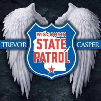 Wisconsin State Patrolman Trevor Casper was killed by a bank robber (Photo by Modvive)