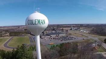 Village of Coleman, Wis. water tower (Photo by Stock)