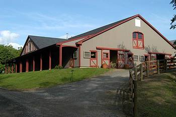 Main Barn (photo courtesy of Far Meadow Farm)