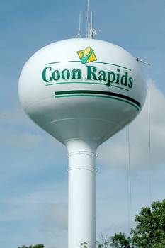 Coon Rapids, Iowa. Water Tower