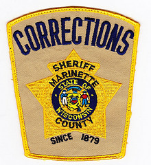 The patch worn by Marinette County correction officers (Marinette County Law Enforcement)
