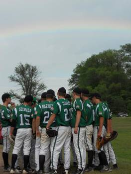 The Coleman Cougars H.S. baseball team will be honored at a Brewer game July 16 (Photo by Rosie Mergener)