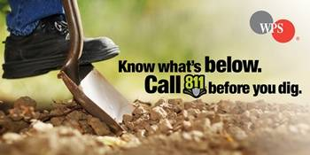 Call Before You Dig Program from WPS (Photo by Integrsys Energy)