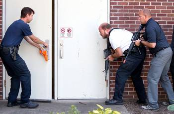 Active shooter or drug busts - a day in life of law enforcement (Phot by LaCrosse Tribune)