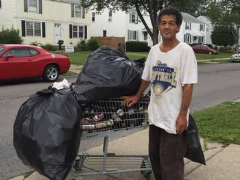 Struggling to make a living in Buffalo, NY: Photo Credit, Maria Rosa