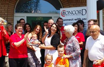 Concord Mortgage Group Ribbon Cutting With Julie Chester