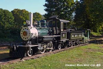 Hawaii Railway Co. Locomotive #5