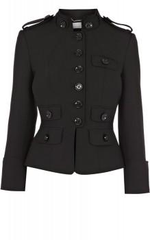 Karen Millen - Tailored Short Black Jacket (worn by Mona Vanderwaal on Pretty Little Liars)