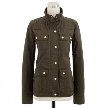 J.Crew - The Downtown Field Jacket (worn by Spencer Hastings on Pretty Little Liars)