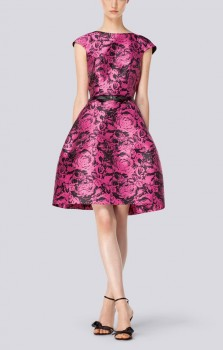 CH Carolina Herrera - Spring 2014 Floral Print Dress
