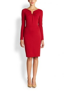 Escada - Dorikes Jersey Sheath Dress