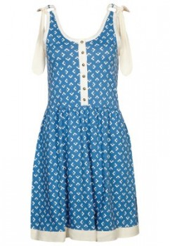 orla kiely - Summer dress - blue