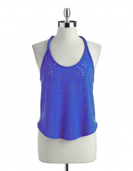 Jessica Simpson - LEIGH LASER CUT TANK TOP
