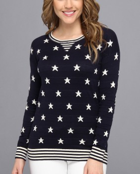 Autumn Cashmere - Stars and Stripes Sweater