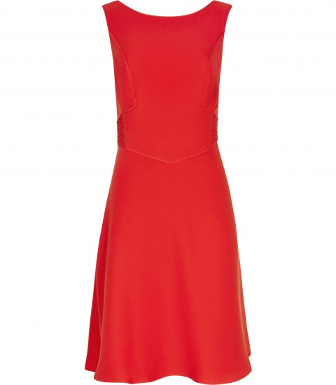 REISS Jade Pleat Back Dress