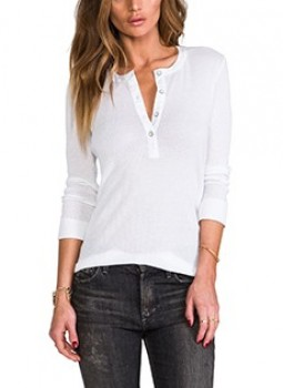 Rag & Bone/JEAN - The Basic Henley (worn by Emily Fields on Pretty Little Liars)