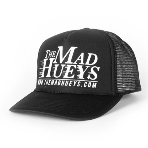 The Mad Hueys Logo Trucker Hat in Blue