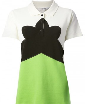Carven - Colorblock Polo (worn by Spencer Hastings on Pretty Little Liars)