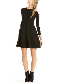 Rachel Rachel Roy - Lace Sleeve Dress