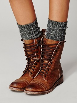 FREEBIRD By Steven - Fletch Lace Up Boot (worn by Spencer Hastings on Pretty Little Liars)