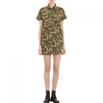 NLST - Camouflage Shirtdress (worn by Aria Montgomery on Pretty Little Liars)