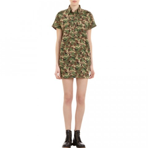 NLST Camouflage Shirtdress