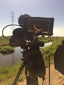 Josh Wiese perfectly captures the solar eclipse with the Sony FS7 and Atomos Ninja Flame monitor recorder