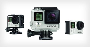 GoPro HERO4 Revealed! 4K Video at 30FPS and the First Built-In Touch Display