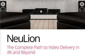 The Complete Path to Video Delivery in 4K and Beyond