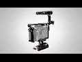 16x9 Inc. Displays Movcam Cages & Flowcine Black Arm Stabilizer at NAB 2017
