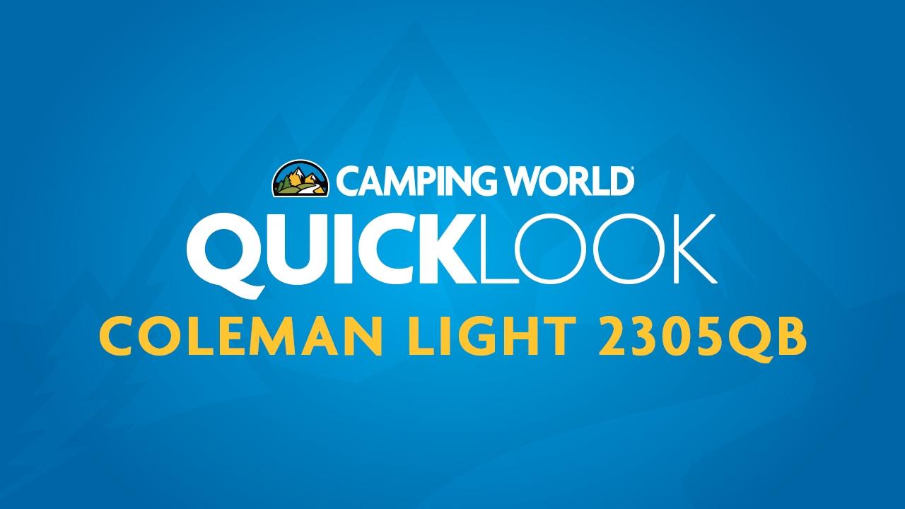 Coleman Light 2305QB Quicklook
