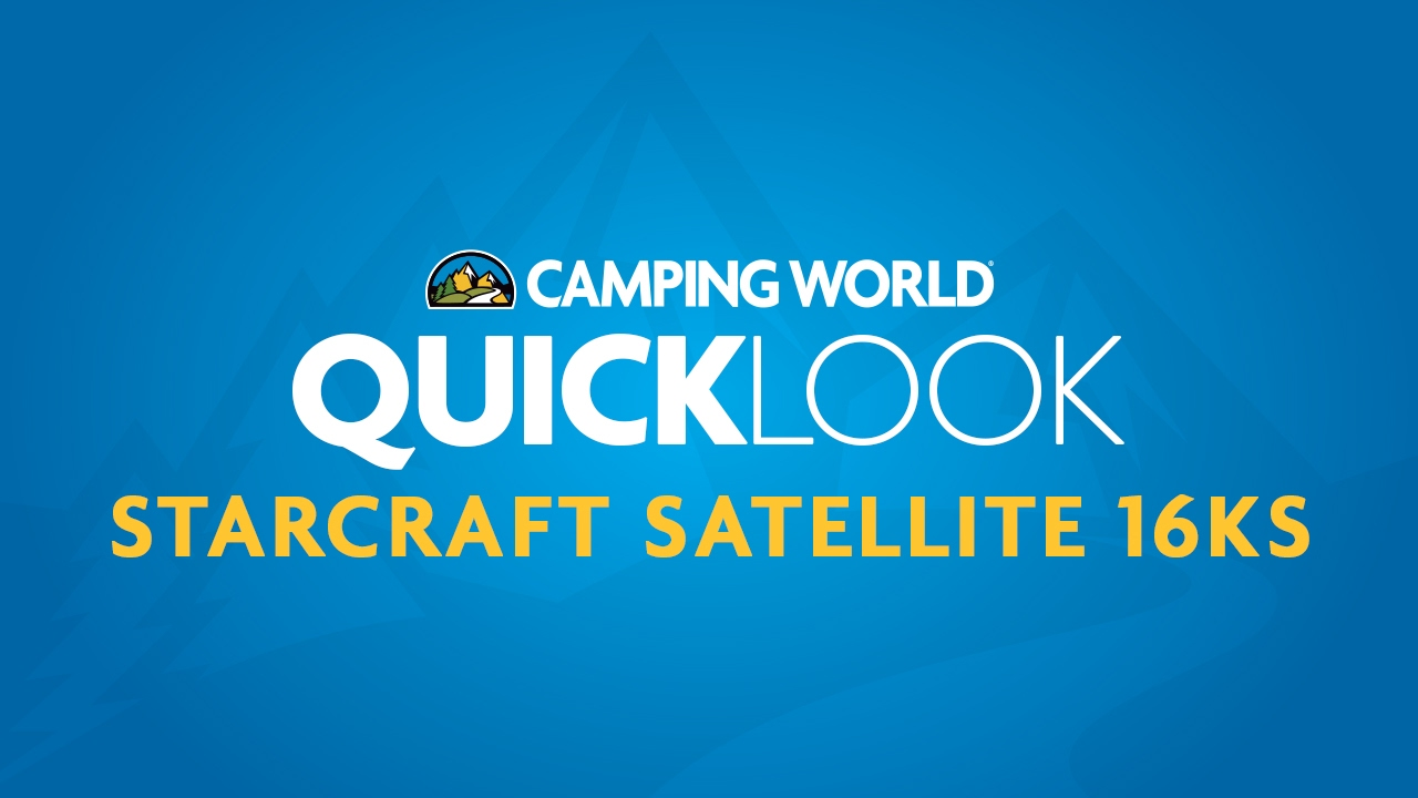 Starcraft Satellite 16KS Quicklook