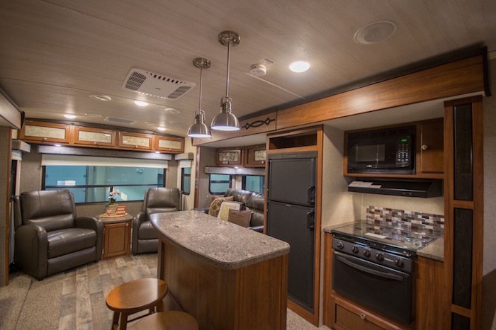 Travel Trailer Gourmet Kitchen