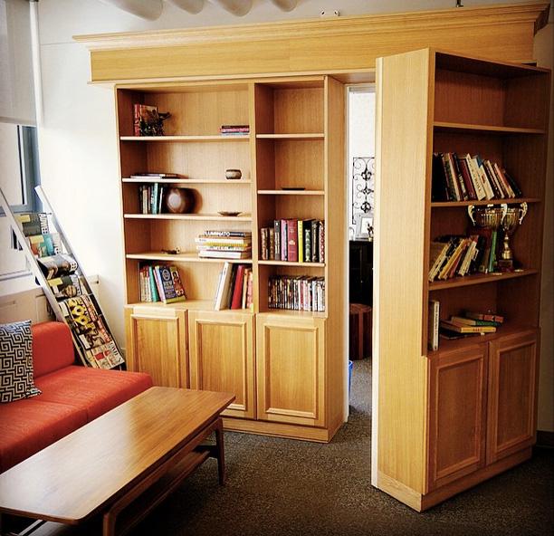Secret Door Bookshelf