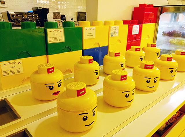 Google Lego Playground With Food