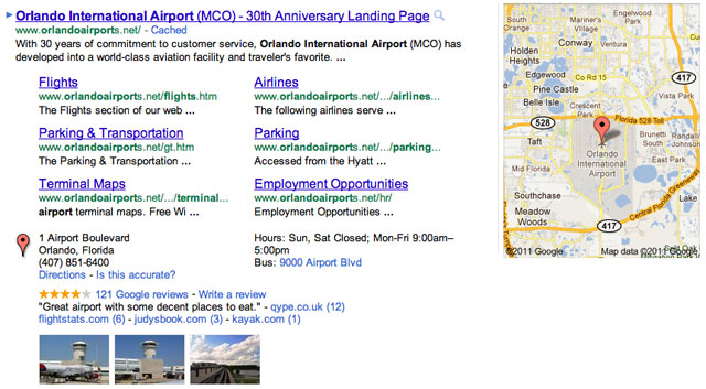 Google Showing Maps Details In AdWords Location