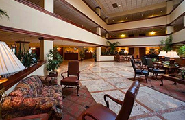 Westford Regency Inn Lobby